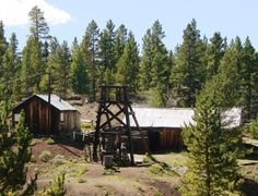 (The Matchless Mine in Leadville, Colorado--purchased by Horace Tabor in 1879. During its heyday, the mine earned $2000 per day in silver!)