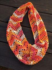 Ravelry: Chevron Lace Infinity Scarf pattern by Tamara Kelly