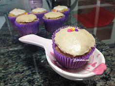Gluten-lactose-free vanilla cupcake