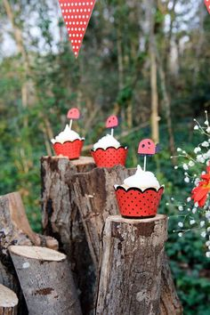 Ladybugs Birthday Party Ideas   Photo 1 of 12   Catch My Party