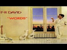F.R. David - Words don't come easy - High Quality Official Music Video - YouTube