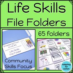 This resource includes 17 file folder activities to practice calendar skills with your special education students. Try them during morning work or in your independent work stations. Life Skills Activities, Life Skills Classroom, Autism Classroom, Special Education Classroom, Education Quotes For Teachers, Autism Activities, Future Classroom, Vocational Activities, Vocational Skills