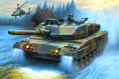 Leopard 2 Vetor - ForWallpaper.com