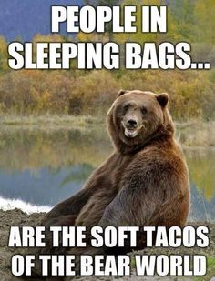 I always think this when camping in the Rockies