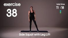 HIIT leg and lower body workout. This will make you sore! #hiit #bootyworkout #legworkout #intervaltraining #homeworkout