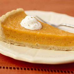Sweet potato citrus pie! A delicious healthy alternative. Great for diabetics too! :)