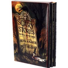 Box Set: Scary Stories - To Tell In The Dark $29.90