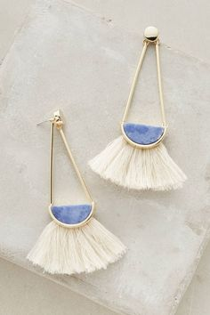 at anthropologie Ouvea Fringed Drops