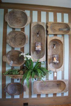 dough bowls wall art from nest full of eggs: Spring 12 Ideas House