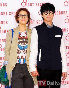 cute freaking couple!! kang hye jung & tablo <3