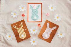 Cartes de Pâques Le Jolie, Diy, Tableware, Cards, Lifestyle, Instagram, Pattern Paper, Making Memories, Glue Sticks