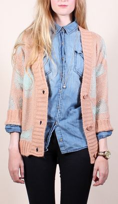 Blush Leopard Cardigan Fancy French Cologne