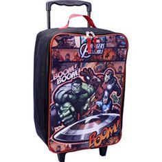 Marvel Avengers Assemble Rolling Luggage Pilot Case - 17 @ niftywarehouse.com #NiftyWarehouse #Avengers #Movies #TheAvengers #Movie #ComicBooks #Marvel