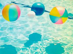 By: Thomas Brendan Sullivan - http://www.thomasbrendan.com | #beachballs #summertime #pool
