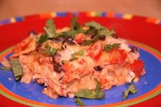 Enchilada Casserole   All recipes with Trader Joes products for easy, quick, healthy meal ideas