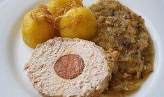 Vepřová pečeně s pikantním terčem na zelí v PH Mashed Potatoes, French Toast, Oatmeal, Breakfast, Ethnic Recipes, Food, Whipped Potatoes, The Oatmeal, Morning Coffee