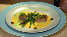 Moja mama - recepty - Kačacie prsia na aromatizovanej špargli Asparagus, Beef, Vegetables, Food, Meat, Studs, Essen, Vegetable Recipes, Meals