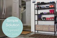 simply organized: Simple Solution: Organized Kid Socks