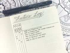 5 different ways to handle future planning in your Bullet Journal (This is the Alastair method)