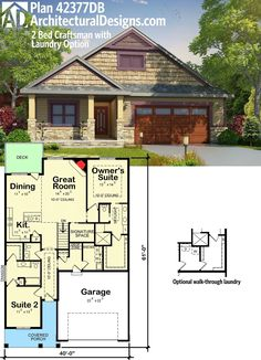 304 best 2 bedroom house plans images in 2019 tiny house plans 2 rh pinterest com