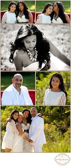 Summer Family Portraits by Carolyn Ann Ryan Photography