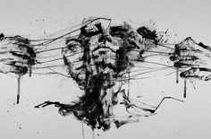 Drawing Restraints by Agnes Cecile | Eyes On Walls