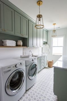 50 Farmhouse Laundry Room Storage Organization Ideas January Leave a Comment If you have a smaller home, using your utility room for multiple purposes is a great space saving designs. Because it often has an utility sink, it naturally Mudroom Laundry Room, Laundry Decor, Laundry Room Cabinets, Farmhouse Laundry Room, Small Laundry Rooms, Laundry Room Organization, Laundry Room Design, Laundry Room And Pantry, Diy Cabinets