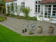 Billedresultat for betonsten chausse terrasse