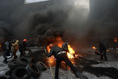 Who are the far-right groups 'taking control' of Ukraine?