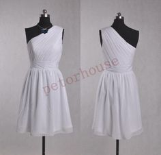 White Short Bridesmaid Dresses, Simple Prom Dresses , Party Dresses,Homecoming Dresses,wedding Party Dress,Bridesmaid Dresses,Simple Dresses