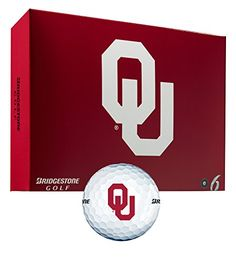 Bridgestone NCAA E6 Golf Balls Oklahoma >>> Check this awesome product by going to the link at the image.