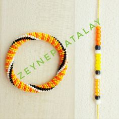 Bead Crochet Patterns, Bead Crochet Rope, Peyote Patterns, Crochet Stitches, Crochet Beaded Bracelets, Beaded Necklace, Jewelry Patterns, Seed Beads, Diy And Crafts