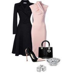 Pink and black retro yet modern.