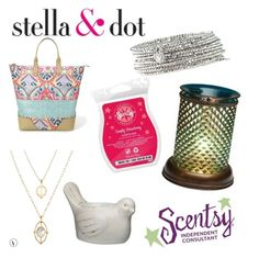 """Combo"" by sarah-labancz on Polyvore featuring Stella & Dot"