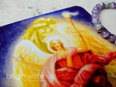Archangel Jeremiel Earring and Bracelet Set  - Amethyst & Aquamarine • Release & Let Go #angels #angeljewelry #doreenvirtue