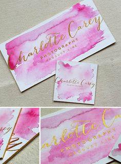 Watercolor Branding Stationery