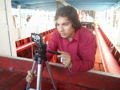 Ensaio fotográfico de Luxã Nautilho no Rio Guamá, em Belém. 31.05.2014. Foto: Sandro André