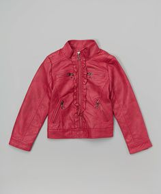 Loving this Pink Jacket - Girls on #zulily! #zulilyfinds