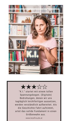 K.I. – Markus Warken Thriller, Science Fiction, Movies, Movie Posters, Nasty People, Pet Peeves, Artificial Intelligence, Catchphrase, Social Networks