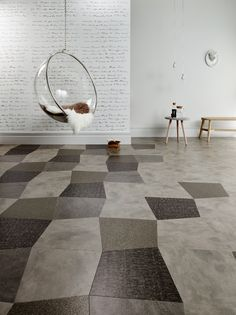 Stria Rock: Commercial LVT Flooring From The Amtico Signature - Dizzygull Amtico Spacia, Amtico Signature, Office Floor, New England, Flooring, Design, Home Decor, Decoration Home, Room Decor