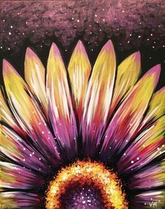 Wild Night Flower at Fraizer's On The Water Restaurant - Paint Nite Events near Dover, DE