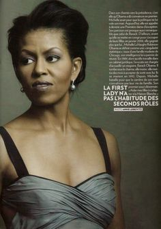Michelle Obama. Our nation is blessed to have her as our First Lady.  Love, honor, and deep respect.