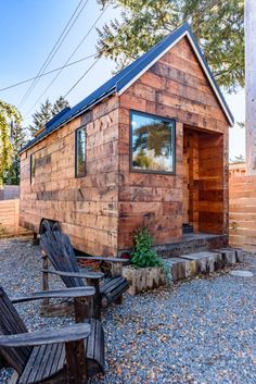 Tipsy the Tiny House You Can Rent in Seattle