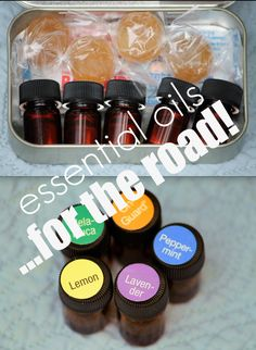 5 Essential Oils for the Road! + DIY Travel Pack, everything you need in 5 small bottles. love my do terra life. #oils4everyone