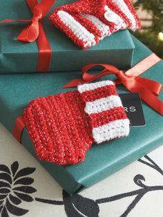 Gift Card Stocking | Yarn | Free Knitting Patterns | Crochet Patterns | Yarnspirations
