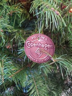 Copenhagen can lids for tree decorations :). @Ashley Carden we'll have to make some for Juniors tree! Haha!
