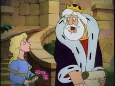 Princess Calla and King Gregor from Disney's Adventures of the Gummi Bears