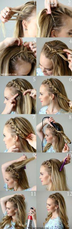 DIY: 5 ideas para trenzar tu cabello sin morir en el intento