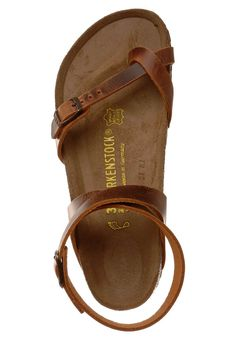 I like these Birkenstocks sandals (Yara). Rap a round the ankle style so comfy and cute. Good for your feet!