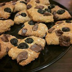 Biscotti con mirtilli e farina Kamut
